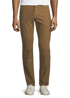 Incotex Brushed Twill Five-Pocket Pants