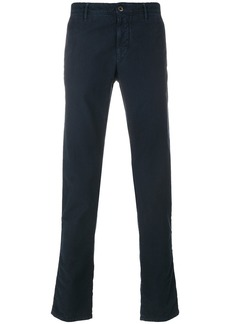 Incotex classic chino trousers - Blue