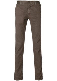 Incotex classic chinos - Brown