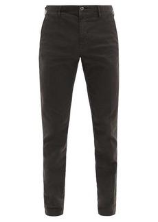 Incotex Cotton-blend slim-leg chino trousers