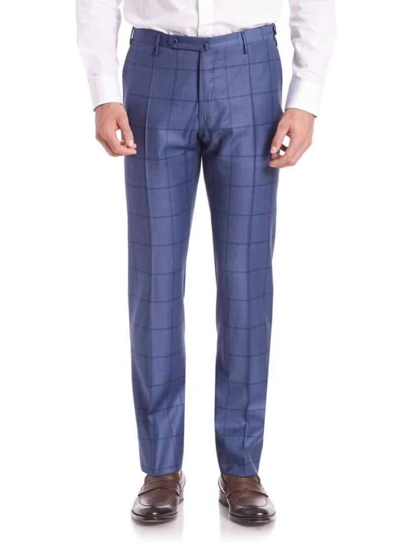 Incotex Fancy Plaid Pants
