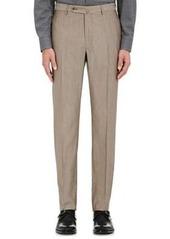 Incotex Men's B-Body Classic-Fit Wool-Cotton Trousers