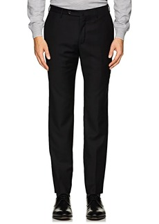 Incotex Men's M-Body Modern-Fit Wool Trousers