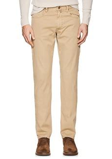 Incotex Men's Ray 5-Pocket Cotton Twill Pants