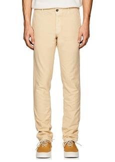Incotex Men's S-Body Slim Cotton Gabardine Trousers
