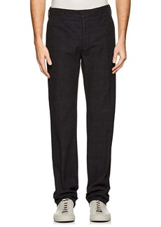 Incotex Men's S-Body Slim Cotton Trousers