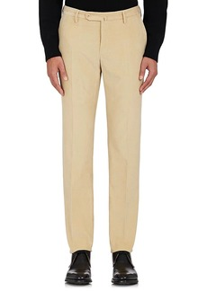 Incotex Men's S-Body Slim-Fit Corduroy Trousers