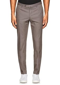 Incotex Men's S-Body Slim-Fit Cotton-Blend Trousers