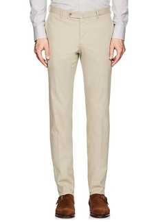 Incotex Men's S-Body Slim-Fit Cotton-Blend Twill Trousers