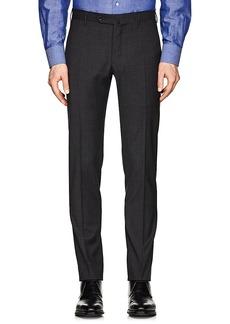 Incotex Men's S-Body Slim Wool Trousers