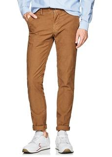 Incotex Men's Stretch-Cotton Slim Trousers