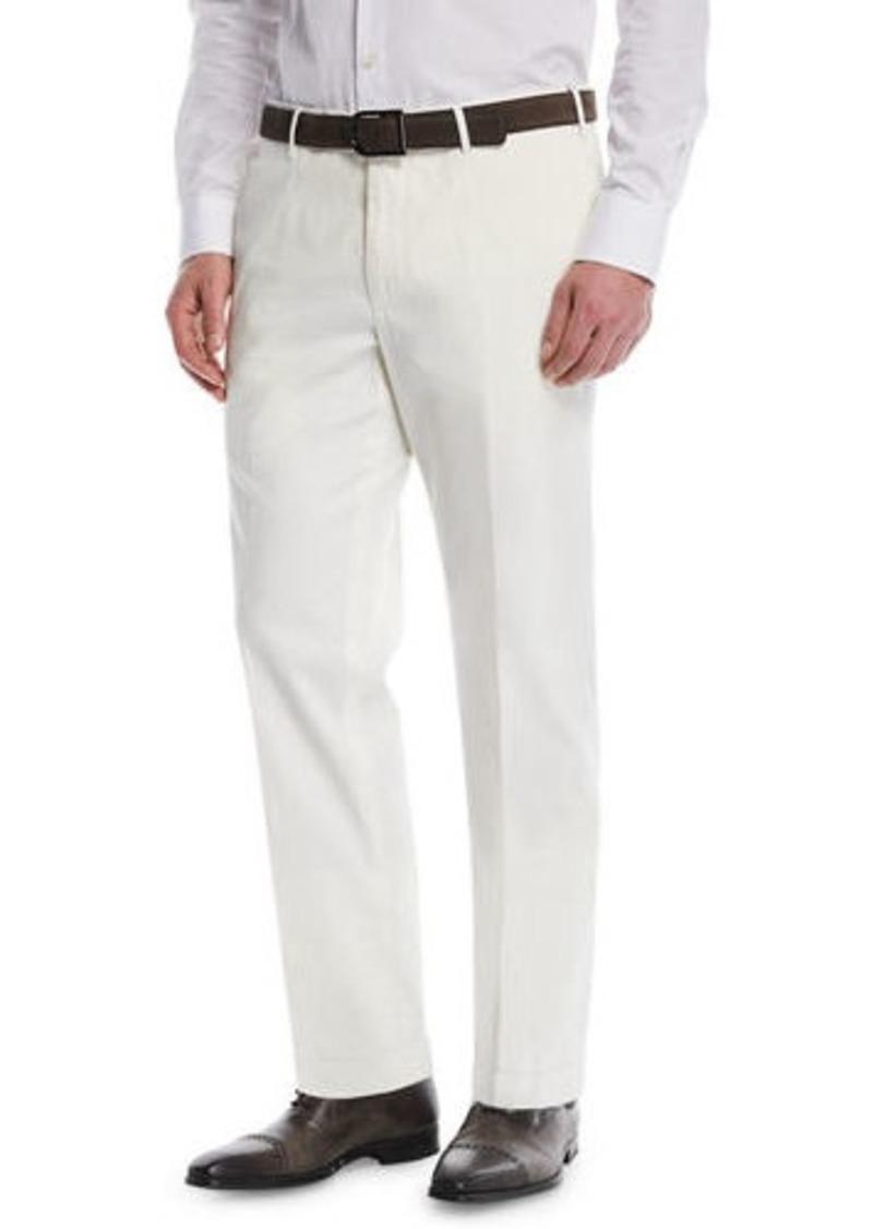 Incotex Micky Trim-Fit Cotton/Silk Pants