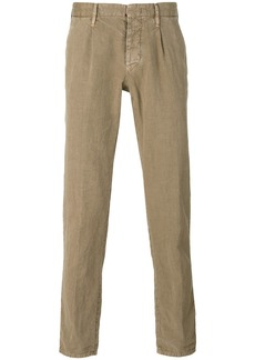 Incotex plain chinos - Nude & Neutrals