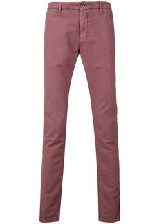 Incotex slim chinos - Pink & Purple