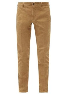 Incotex Slim-fit cotton-blend chino trousers