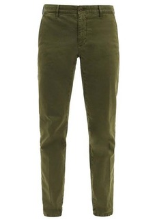 Incotex Slim-fit stretch-cotton blend chino trousers