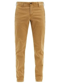 Incotex Slim-fit stretch-cotton blend chino trousers