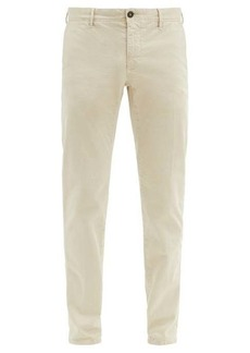 Incotex Slim-fit stretch-cotton blend trousers