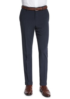 Incotex Standard-Fit Striped Seersucker Trousers