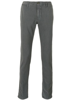 Incotex stonewashed chino trousers - Grey