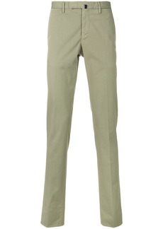 Incotex straight-leg chinos - Green