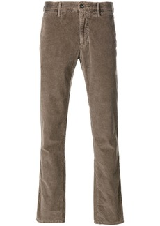 Incotex straight-leg cord trousers - Nude & Neutrals