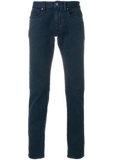 Incotex straight leg trousers - Blue