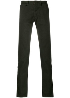 Incotex straight leg trousers - Brown