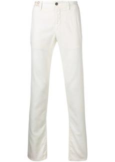Incotex low rise regular trousers