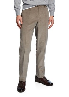 Incotex Men's Fine Wale Corduroy Pants
