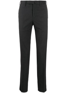 Incotex micro houndstooth pattern trousers