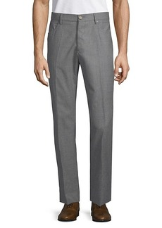 Incotex Modern-Fit Wool & Cashmere Pants