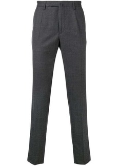 Incotex patterned tailored trousers