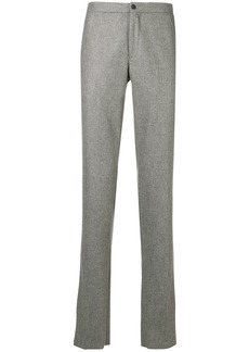 Incotex plain straight trousers