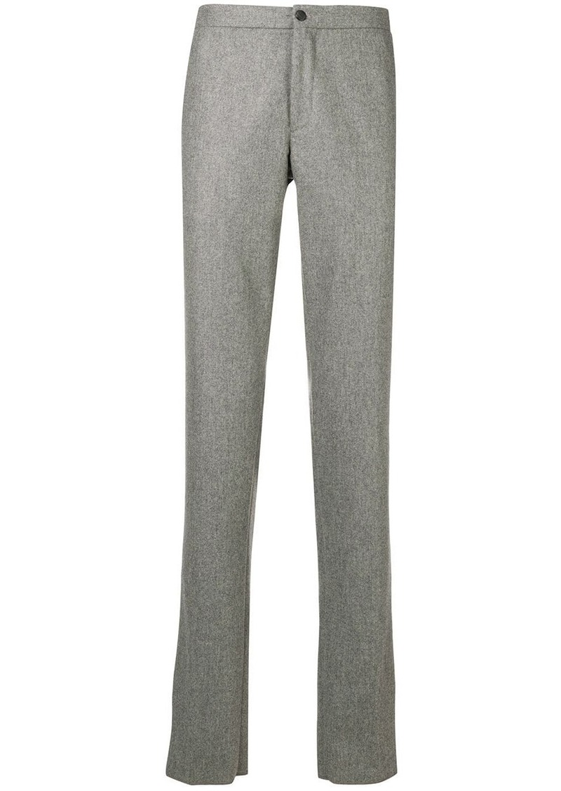 Incotex plain straight trousers