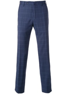 Incotex slim fit checked trousers