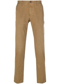 Incotex splatter print regular trousers