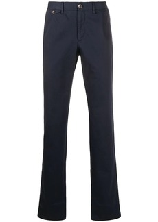 Incotex straight cotton blend trousers