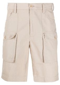 Incotex straight-leg cargo shorts
