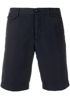 Incotex plain chino shorts