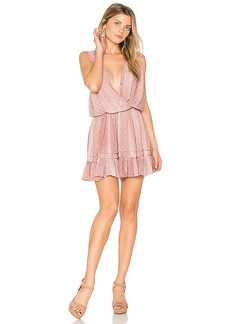 Indah Balmy Mini Dress in Pink. - size L (also in XS,S,M)