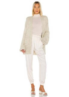 Indah Cayenne Oversize Cardigan