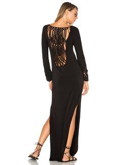 Indah Champagne Dress