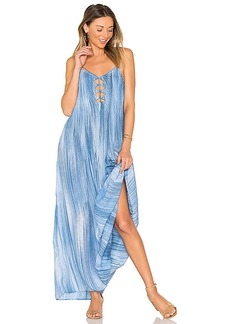 Indah Imagine Maxi Dress in Blue. - size M (also in S,XS,L)