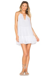 Indah Joy Mini Dress in White. - size L (also in M,S,XS)