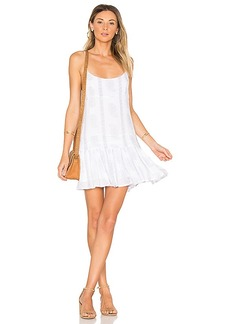 Indah Juniper Mini Dress in White. - size M (also in S,XS)
