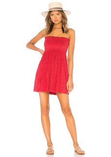 Indah Mercy Strapless Mini Dress