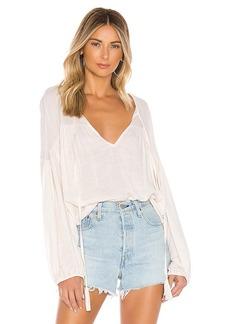 Indah Somi Easy Oversize Summer Blouse