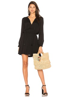 Indah Ziggy Dress in Black. - size L (also in M,S,XS)