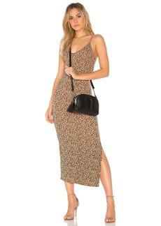 Licorice Printed Dress